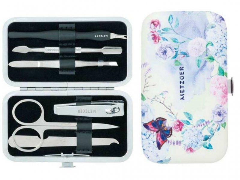 Metzger, Маникюрный набор Весна MS-3957(2)-Small (6 предметов)Инструменты для педикюра<br>Маникюрный набор (6 предметов).<br>