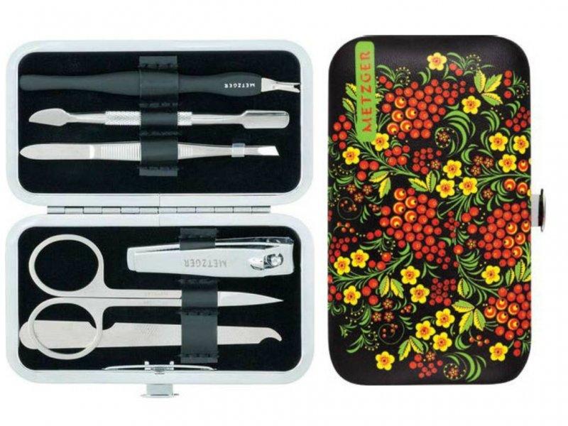 Metzger, Маникюрный набор Рябина MS-3957(6)-Small (6 предметов)Инструменты для педикюра<br>Маникюрный набор (6 предметов).<br>