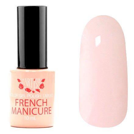Tartiso, Гель-лак - French Manicur TFM-03 (10 мл.)Tartiso <br>Гель-лак, нежно-розовый, без блесток и перламутра, полупрозрачный<br>