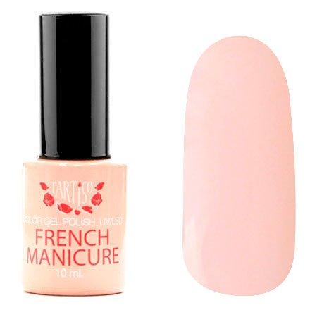 Tartiso, Гель-лак - French Manicur TFM-06 (10 мл.)Tartiso <br>Гель-лак, пастельно-розовый, без блесток и перламутра, полупрозрачный<br>