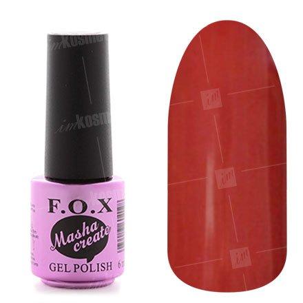 F.O.X, Гель-лак - Masha Create Pigment №904 (6 ml.)F.O.X<br>Гель-лак,кирпично-красный, эмалевый,плотный.<br>
