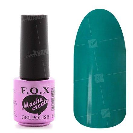 F.O.X, Гель-лак - Masha Create Pigment №905 (6 ml.)F.O.X<br>Гель-лак,серо-зеленый, эмалевый,плотный.<br>