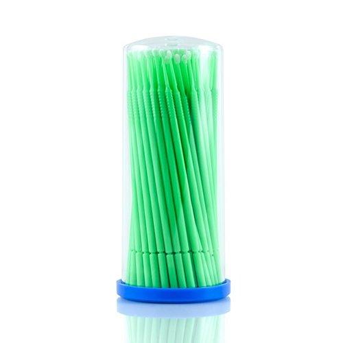 Sexylashes, Аппликатор микробраш (зеленый, 100 шт.в уп., S - 1мм.)Инструменты, кисти, салфетки<br><br>