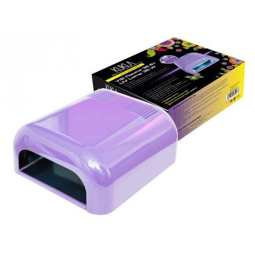 JessNail KUKLA, УФ лампа 36 Вт (светло-сиреневая, глянцевая)УФ-Лампы<br>Профессиональная ультрафиолетовая лампа мощностью 36 Ватт.<br>