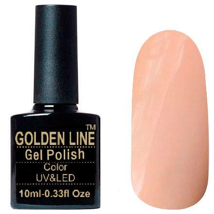 Golden Line, Гель лак - French Collection BS 371Golden Line<br>Гель-лак, полупрозрачный, бежевый, подойдет для французского маникюра<br>