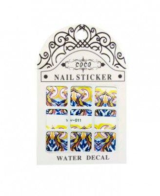 Coco, Nail Sticker - Слайдер-дизайн LW-011Слайдер-дизайн Coco<br>Слайдер-дизайн<br>