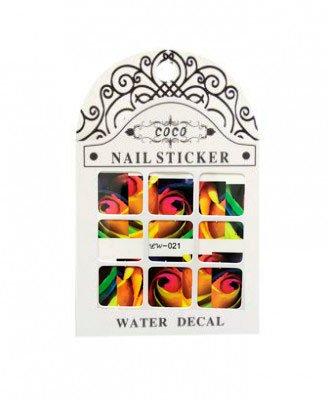 Coco, Nail Sticker - Слайдер-дизайн LW-021Слайдер-дизайн Coco<br>Слайдер-дизайн<br>