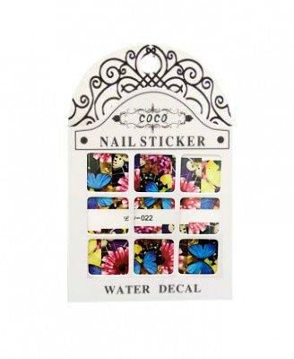 Coco, Nail Sticker - Слайдер-дизайн LW-022Слайдер-дизайн Coco<br>Слайдер-дизайн<br>