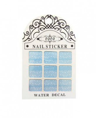 Coco, Nail Sticker - Слайдер-дизайн LW-117Слайдер-дизайн Coco<br>Слайдер-дизайн<br>