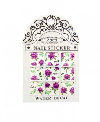 Coco, Nail Sticker - Слайдер-дизайн LW-209Слайдер-дизайн Coco<br>Слайдер-дизайн<br>