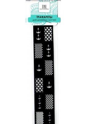 TNL, Трафарет для дизайна ногтей LC98TNL Professional <br>Трафареты предназначены для дизайна ногтей<br>