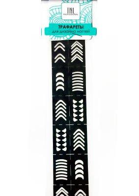 TNL, Трафарет для дизайна ногтей LC97TNL Professional <br>Трафареты предназначены для дизайна ногтей<br>