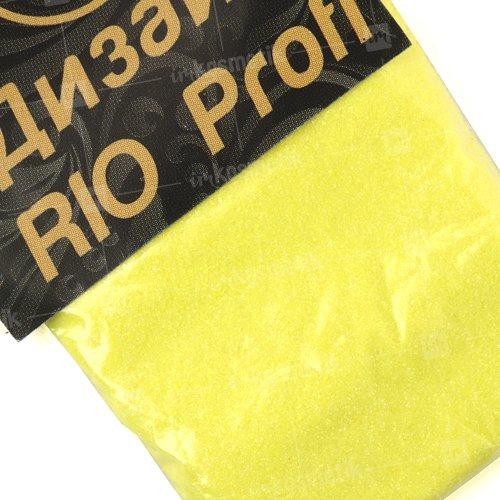 Rio Profi, Зеркальная втирка - Желтый F07 (3 гр.)Зеркальная втирка<br>Зеркальная втиркаЗвездная пыль в пакете<br>