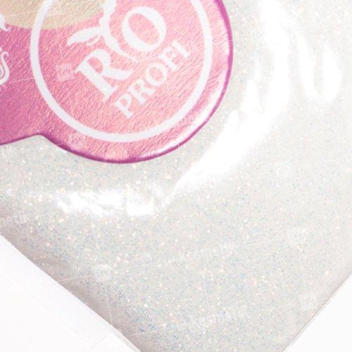 Rio Profi, Зеркальная втирка - Белый голографик J300 (3 гр.)Зеркальная втирка<br>Зеркальная втиркаЗвездная пыль в пакете<br>