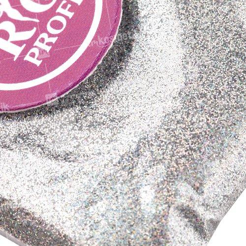 Rio Profi, Зеркальная втирка - Серебро голографик LВ100 (3 гр.)Зеркальная втирка<br>Зеркальная втиркаЗвездная пыль в пакете<br>