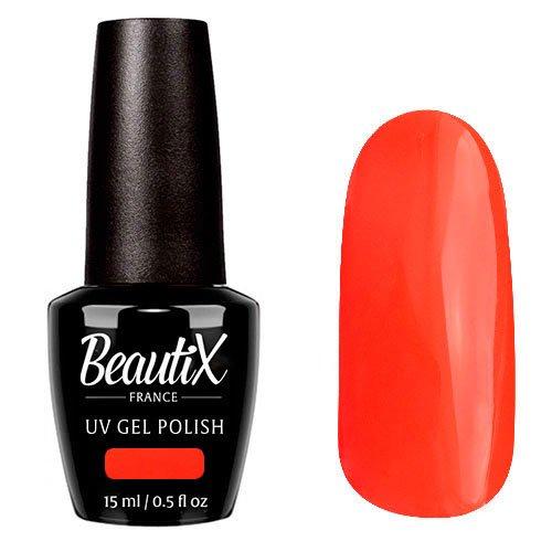 Beautix, Гель-лак №118 (15 мл.)Beautix<br>Гель-лак, морковно-красный, глянцевый, плотный<br>