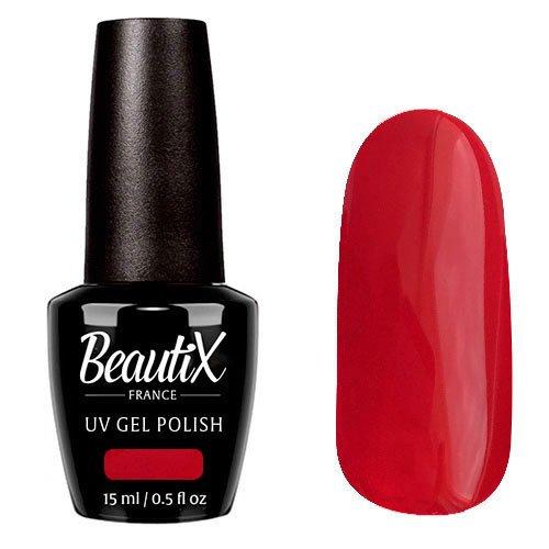 Beautix, Гель-лак №129 (15 мл.)Beautix<br>Гель-лак, малиново-красный, глянцевый,полупрозрачный<br>