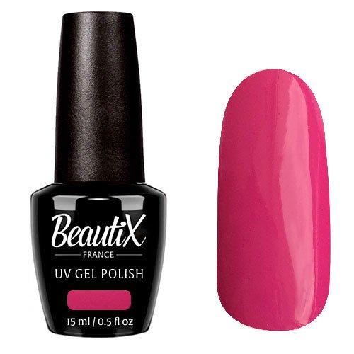 Beautix, Гель-лак №324 (15 мл.)Beautix<br>Гель-лак, малиновый, глянцевый, плотный<br>