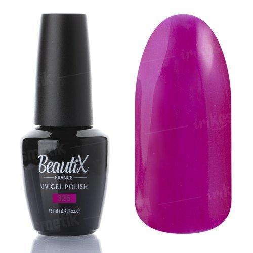 Beautix, Гель-лак №325 (15 мл.)Beautix<br>Гель-лак, малиновый, глянцевый, с микроперламутром, плотный<br>