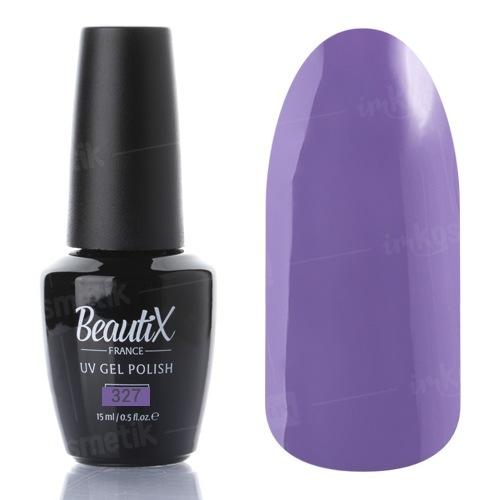 Beautix, Гель-лак №327 (15 мл.)Beautix<br>Гель-лак, фиолетовый, глянцевый, плотный<br>