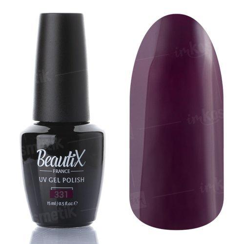 Beautix, Гель-лак №331 (15 мл.)Beautix<br>Гель-лак, слива, глянцевый, плотный<br>