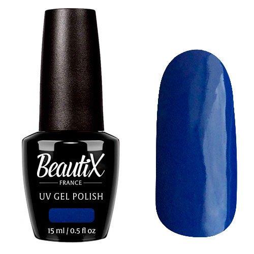 Beautix, Гель-лак №338 (15 мл.)Beautix<br>Гель-лак, темно-синий, глянцевый, плотный<br>