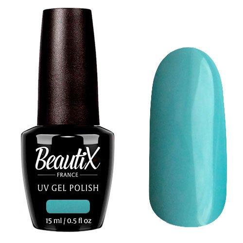 Beautix, Гель-лак №340 (15 мл.)Beautix<br>Гель-лак, голубой, глянцевый, плотный<br>