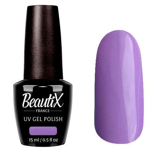 Beautix, Гель-лак №343 (15 мл.)Beautix<br>Гель-лак, сиреневый, глянцевый, плотный<br>