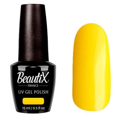 Beautix, Гель-лак №510 (15 мл.)Beautix<br>Гель-лак, желтый, глянцевый, плотный<br>