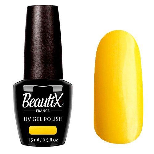 Beautix, Гель-лак №511 (15 мл.)Beautix<br>Гель-лак, желтый, глянцевый, c микроперламутром, плотный<br>