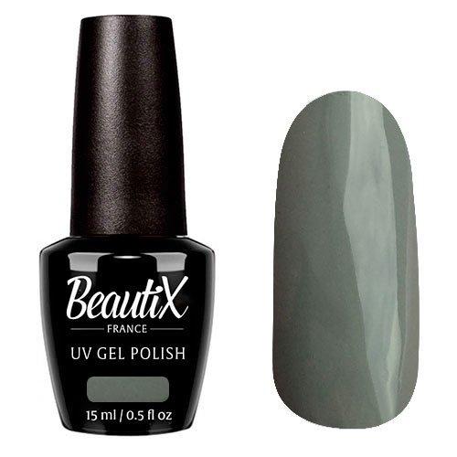 Beautix, Гель-лак №707 (15 мл.)Beautix<br>Гель-лак, серый, глянцевый, плотный<br>