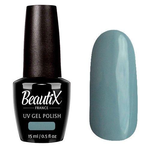 Beautix, Гель-лак №708 (15 мл.)Beautix<br>Гель-лак, серо-глубой, глянцевый, плотный<br>