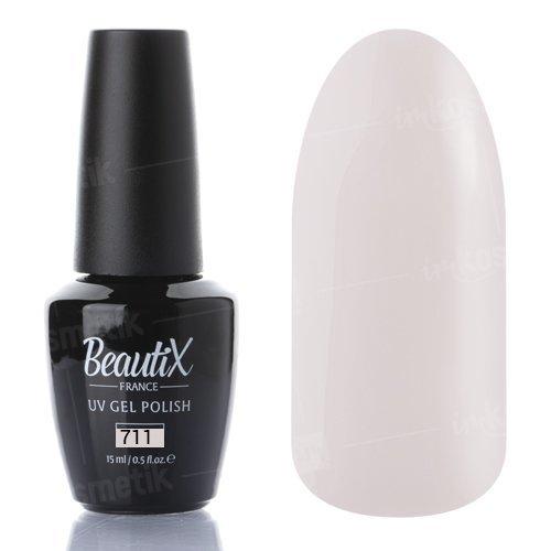 Beautix, Гель-лак №711 (15 мл.)Beautix<br>Гель-лак, топленое молоко, глянцевый, плотный<br>