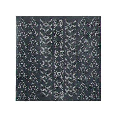 NelTes, Металлизированные наклейки для дизайна - Серебро 7Металлизированные наклейки<br>Металлизированные наклейки для дизайна ногтей<br>