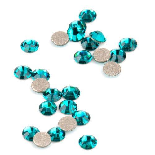 Swarovski Elements, Cтразы Blue Zircon 1,8 мм (30 шт)Стразы<br>Swarovski Elements диаметром 1,8 мм для неповторимого, сияющего маникюра.<br>