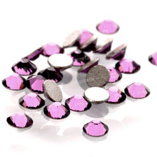 Swarovski Elements, Cтразы Amethyst 1,8 мм (30 шт)Стразы<br>Swarovski Elements диаметром 1,8 мм для неповторимого, сияющего маникюра.<br>