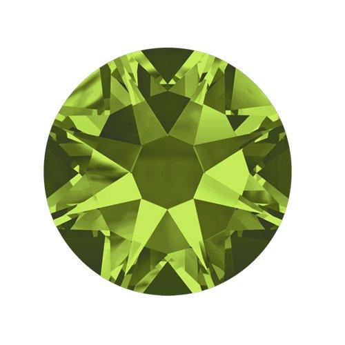 Swarovski Elements, Cтразы Olivine 1,8 мм (30 шт)Стразы<br>Swarovski Elements диаметром 1,8 мм для неповторимого, сияющего маникюра.<br>