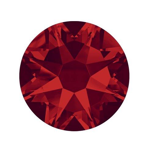 Swarovski Elements, Cтразы Light Siam 2,8 мм (30 шт)Стразы<br>Swarovski Elements диаметром 2,8 мм для неповторимого, сияющего маникюра.<br>