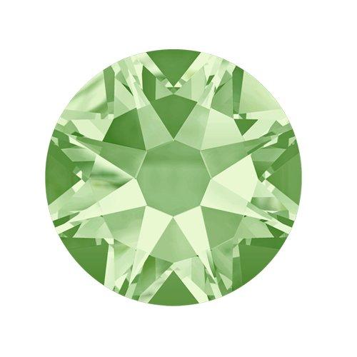 Swarovski Elements, стразы Chrysolite 1,8 мм (30 шт)Стразы<br>Swarovski Elements диаметром 1,8 мм для неповторимого, сияющего маникюра.<br>