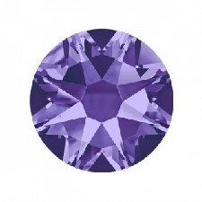 Swarovski Elements, стразы Tanzanite 2,8 мм (30 шт)Стразы<br>Swarovski Elements диаметром2,8 мм для неповторимого, сияющего маникюра.<br>