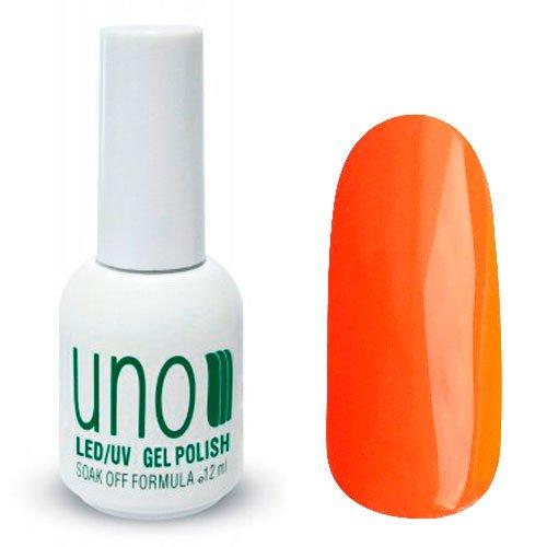 Uno, Гель-лак Marocco - Марокко №009 (12 мл.)Uno <br>Гель лак,теплого ярко-оранжевого цвета, без перламутра и блесток, глянцевый,плотный.<br>