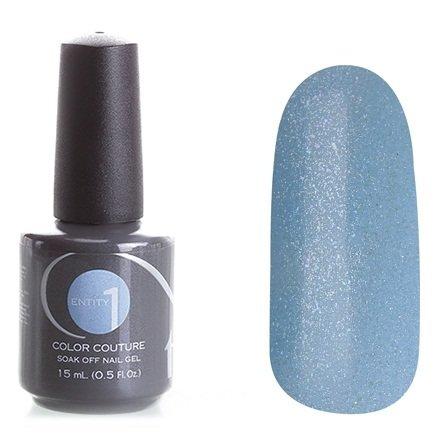 Entity One Color Couture, цвет №7537 Eyes Of Stiel 15 mlColor Couture Entity One<br>Гель-лак бледно-голубой, с голографическими микроблестками, плотный<br>