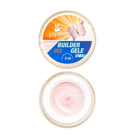 F.O.X, Строительный гель-желе Gele Builder Gel №003 (5 ml.)Гели F.O.X<br>Вязкое гель-желе. Отлично держит сложную форму до полимеризации.<br>