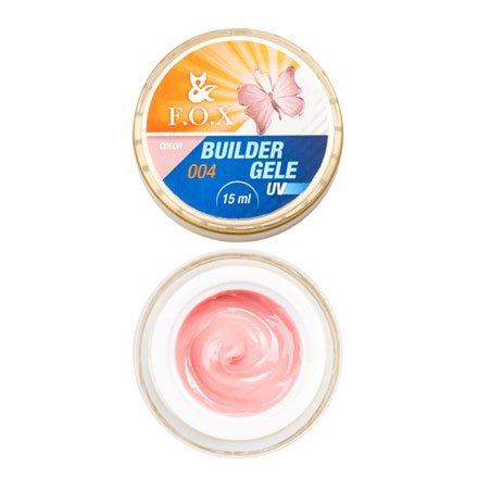 F.O.X, Строительный гель-желе Gele Builder Gel №004 (15 ml.)Гели F.O.X<br>Вязкое гель-желе. Отлично держит сложную форму до полимеризации.<br>