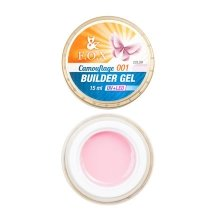 F.O.X, Камуфлирующий гель Cover Camouflage Builder Gel 001 (15 ml.)