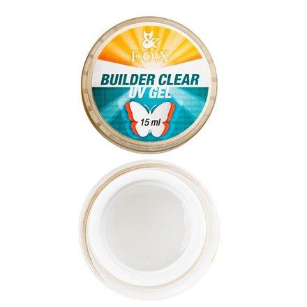 F.O.X, Моделирующий 3-фазный прозрачный гель Builder Clear Gel (15 ml.)Гели F.O.X<br>Высокой степени вязкости 3-фазный гель.<br>