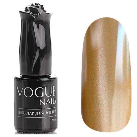 Vogue Nails, Гель-лак кошачий глаз - Янтарная крошка №003 (10 мл.)Vogue Nails<br>Гель-лак, янтарно-золотой с эффектом кошачий глаз, полупрозрачный<br>