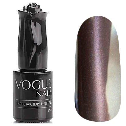 Vogue Nails, Гель-лак кошачий глаз - Царский опал №004 (10 мл.)Vogue Nails<br>Гель-лак,холодный коричневый, с розовато-серебристым перламутром, с эффектом кошачий глаз,плотный<br>