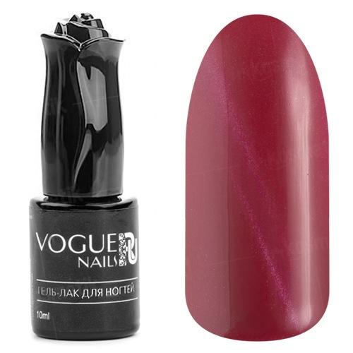 Vogue Nails, Гель-лак кошачий глаз - Пылающий рубин №005 (10 мл.)Vogue Nails<br>Гель-лак,малиново-красный с эффектом кошачий глаз, плотный<br>