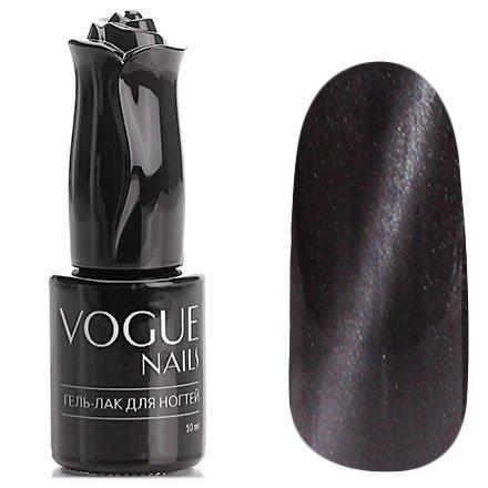 Vogue Nails, Гель-лак кошачий глаз - Черный агат №012 (10 мл.)Vogue Nails<br>Гель-лак,черныйс эффектом кошачий глаз, плотный<br>